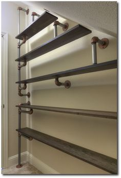 This might be perfect to build on that weird angle wall under the stairwell in my laundry room.