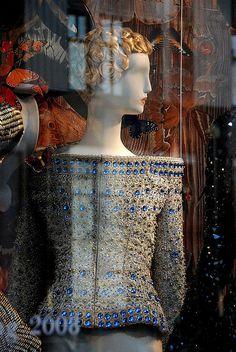 Bergdorf Goodman    Another McQueen window