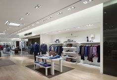 "Anatomy of a store: Harry Rosen, Yorkdale: http://www.retail-insider.com/retail-insider/2014/4/anatomy-harry-rosen-yorkdale   The Brunello Cucinelli ""soft shop""."