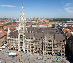 Munich, Germany   Famous Clock Tower
