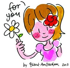 For you kaart van Blond-Amsterdam Shabby Chic Christmas, Pink Christmas, Christmas Trees, Birthday Wishes, Happy Birthday, Thank You Wishes, Blond Amsterdam, Cartoon Faces, Sketches