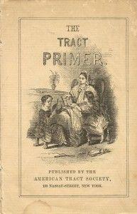 Antique Alphabet School Book Primer  via Knick of Time @ knickoftimeinteriors.blogspot.com