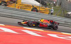 DANIEL RICCIARDO wordt knap derde tijdens F1 GP 2017 op de Red Bull Ring in Spielberg Oostenrijk