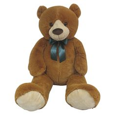 Animal Alley - Peluche Oso con Lazo Gigante 110 cm, un peluche de un oso de 110 cm. Parte de la colección de peluches Animal Alley, que sólo se puede encontrar en Toys R Us. Se venden por separado. Exclusivo Toys R Us. Edad recomendada + 12 meses.