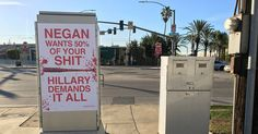 Anti-Hillary 'Walking Dead' Posters Surface in Los Angeles » Alex Jones' Infowars: There's a war on for your mind!