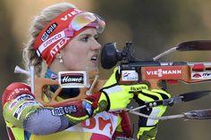 Gabriela Soukalová, czech biathlete.