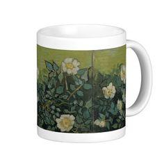 Wild Roses by Vincent Van Gogh Coffee Mug