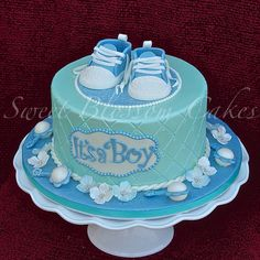 Looking for cake decorating project inspiration? Check out Baby Shower Cake by member Torta Baby Shower, Baby Shower Kuchen, Unique Baby Shower Cakes, Baby Shower Cakes For Boys, Baby Boy Cakes, Baby Shower Decorations For Boys, Baby Shower Diapers, Baby Shower Themes, Baby Boy Shower