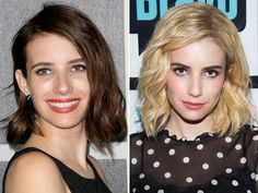 """Hair styles By Pina May 2017 published on. The 2017 season is very moving with new trends and changes.Read More """"New Season Preparation: Here are 40 Celebrities Changing Haircut"""" Best Bob Haircuts, Celebrity Haircuts, Allison Williams, Michelle Monaghan, Melissa Mccarthy, Miranda Lambert, Kirsten Dunst, Celine Dion, Salma Hayek"""