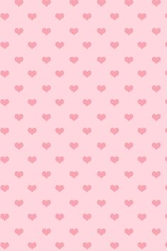 Pink cute hearts iphone wallpaper