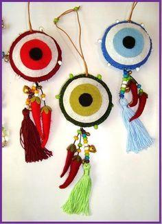 Blog de ce :C.E Artes Ceramica       (11) 9 8668-5659 Tim, Pingente de Olho Grego para porta e bolsa ...