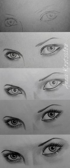 Eyes [ Tutorial ] by annakoutsidou.deviantart.com on @deviantART http://www.SeedingAbundance.com http://www.marjanb.myShaklee.com: