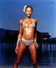 Noemie Lenoir - Sports Illustrated Swimsuit 2000 Photographed by: Robert Erdmann