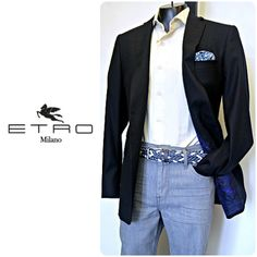 With this Etro sport coat, shirt from Giannetto Portofino, lightweight Joe's Jeans and Leyva belt, you'll look great no matter the function! To purchase, call (615) 256-3547. We ship! Featured items: Etro sport coat (40R) $298, Giannetto Portofino shirt (L) $78, Joe's Jeans (34) $88, Leyva belt (36) $28 - #nashville #flipnashville #consignment #menswear #designerconsignment #nashvillenow #etro #giannettoportofino #joesjeans #leyva