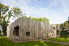 A Belgian Architects Courtyard House Offers Work/Life Balance #dwell #moderneuropeanhomes #moderndesign