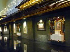 Some more lobby artwork at Jumeirah Himalayas Shanghai
