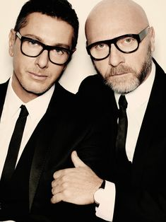 Stefano Gabbana & Domenico Dolce - Italian High Fashion Designers