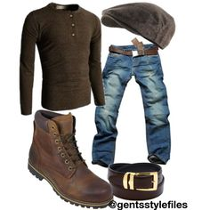 "Gents Style Files ""Casual"" by kimberlyannhawes on Polyvore featuring Timberland, Nanny State, Doublju, urban, menswear, casualwear and GentsStyleFiles"