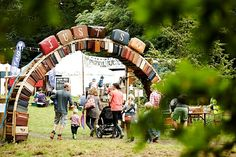 Chesire : a family festival that puts art, crafts, music and literature in one magical weekend The Just So Festival could be just what your looking for.