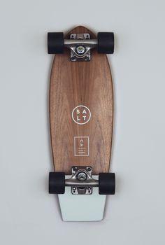 // SALT Skateboard.