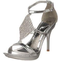 Sizzle by Coloriffics Women's Pegasus Platform Sandal