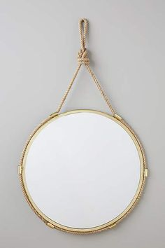 Seaworthy Knot Mirror - anthropologie.com