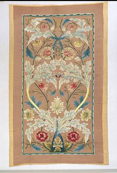 William Morris  (British, Walthamstow, London 1834–1896 Hammersmith, London) Maker: Probably by Catherine Holiday. Date: ca. 1875–80