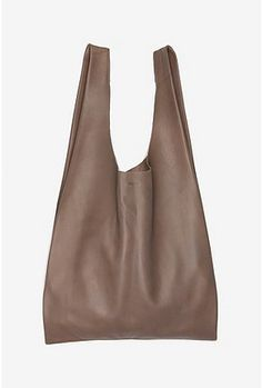 leather tote bag!