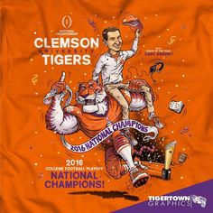 CLEMSON WINS! The Tigers are the NATIONAL CHAMPIONS!!!!!! #Clemson #Football #Champions