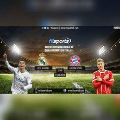 fiisports's Media: 📢 🏆 | Real Madrid 2 - 2 Bayern Münih Popular Instagram Accounts, Like Instagram, Real Madrid, Selena Gomez, Accounting, Social Media, Bayern, Business Accounting, Social Networks