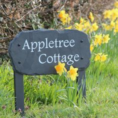 High-quality house signs available in a wide range of Stone and Styles. Stones include Slate, Sandstone, Yorkshire Stone and Marble. Personalized Signs For Home, Outdoor Signs, Outdoor Decor, York Stone, Slate Signs, Entrance Sign, House Signs, Rustic Stone, Rustic Contemporary