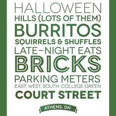 Can't go to Athens Halloween this year or next, due to the wedding, hoping to make it back in 2014!