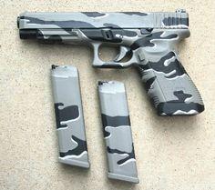 Urban Camo Glock 9mm & mags