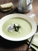 Cream+of+Asparagus+Soup+with+Poached+Egg+Recipe:+Asparagus+Soup+with+Poached+Egg