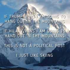 Skiing quotes that you should know about. They will help you dream of quitting your job and become a ski bum. Ski quotes to live and love your life.