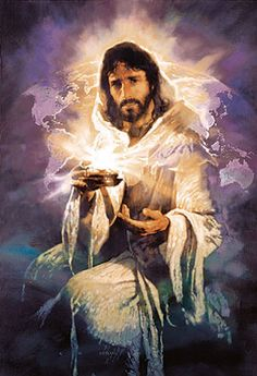 I AM THE LIGHT OF THE WORLD, if you follow me you will not walk in darkness.