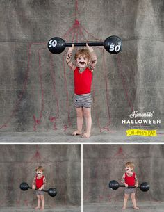 Muscle Man DIY Halloween Costume -- Design Dazzle