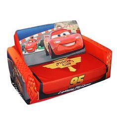 Disney Pixar's Cars The Movie: Flip-Open Slumber Sofa - Sofas #Kids #Kids #Children #Child #Furniture #Set #Christmas #Holiday #Holidays #Wish #Wishlist #Gift #Gifts #Present #Presents #Ideas #Idea #Sets #Sofas #Couches