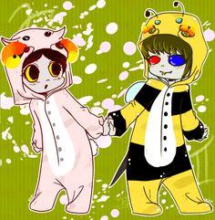 KS - Sheep and Bee by Erina-chan