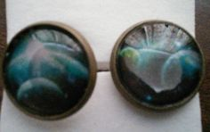 Planets rising cabochon earrings £3.00