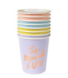 So Much Fun Cups