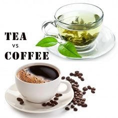 """""""If you have to choose between tea or coffee it's probably better to drink tea."""" According to recent study : http://ttr.com.my/tea-is-better-than-coffee/"""