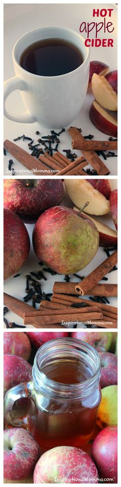 Hot Apple Cider-The amazing blend of cinnamon, cloves, and brown sugar creates the perfect cider to satisfy everyone!