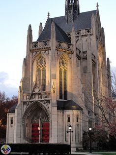 Heinz Chapel at the University of Pittsburgh