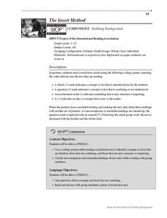 Siop Model Lesson Plan  Recipe For Writing A Persuasive Letter