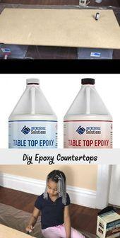 Heute, meine Leute, werden Sie lernen, wie man erstaunliche DIY-Epoxid-Arbeitsplatten herstellt. Und ...   - Countertops -   #countertops #DIYEpoxidArbeitsplatten #erstaunliche #herstellt #Heute #lernen #Leute #man #Meine #Sie #und #werden #wie Bar Top Epoxy, Epoxy Table Top, Epoxy Countertop, Countertops, Kitchen Counters, Diy Supplies, Cleaning Supplies, Colored Epoxy, Paint Stirrers