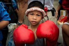 Muay Thai Boy - Lamphun, Thailand