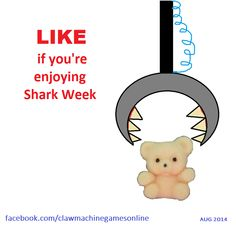 How clawmasters enjoy Shark Week (AUG