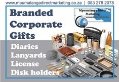 Need a branded corporate gift? We've got you covered. We have a wide variety of diaries in stock. Contact us via email to get your quote sammyschmidt165@gmail.com or visit our website for more information. #mpumalangadirectmarketing #corporategift #branding