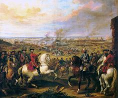 Louis XV and the Battle of Fontenoy, 11 mai 1747 by Pierre l'Enfant Empire Romain, Seven Years' War, Living In England, American Revolutionary War, French Army, Ludwig, Italian Artist, World History, Warfare